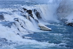 Gullfoss im Winter