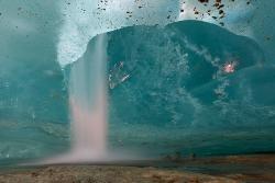 Gletscherwasserfall
